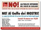 15 marzo 2010 - NO all'impianto eolico off shore nel Golfo di Cagliari