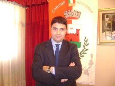 Efisio Demuru assessore ai Lavori Pubblici di Capoterra.