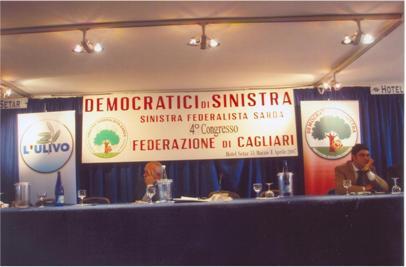 4 Congresso Federazione di Cagliari dei DS